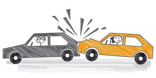 Unfall mit dem Dienstfahrzeug