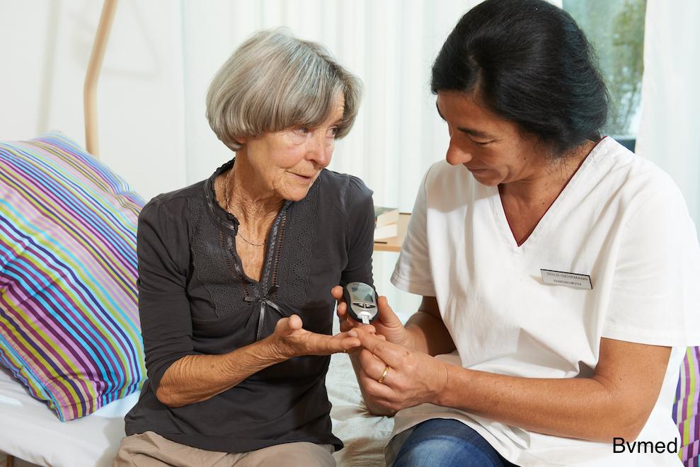 Menschen mit Diabetes mellitus pflegen