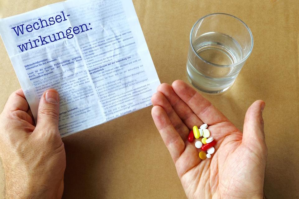 Wechselwirkungen von Medikamenten