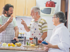 Kochgruppen und Feste mit kulinarischen Angeboten
